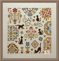 Cat Lovers from Jardin Prive - click for more