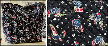 Vera Bradley Holiday Owls Tote - click to see more