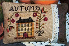 An Autumn Pin Pillow from Abby Rose Designs - click to see more