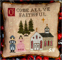 O Come All Ye Faithful from Abby Rose Designs - click to see more
