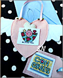 Pocket Card Pink Heart from AB Designs - click for more