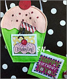 Pocket Card Cupcake from AB Designs - click for more