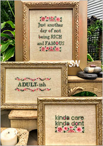 Adultish from AB Designs - click for more