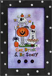 Eat, Drink & Be Scary from AB Designs - click for more