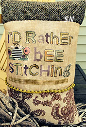 I'd Rather Bee Stitching from AB Designs - click for more