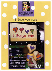 i love you more from AB Designs - click for more