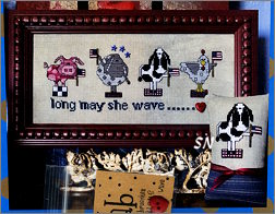 Long May She Wave from AB Designs - click for more