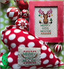 Merry Kiss Moose from AB Designs - click for more