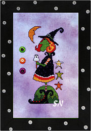 Wilhelmina the Little Witch from AB Designs - click for more