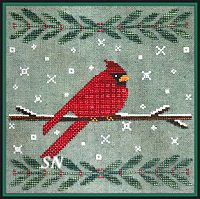 Wintertide Cardinal from Artful Offerings - click for more