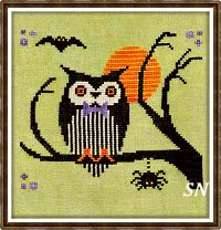 Hoot-Owl Halloween from Artful Offerings - click for more