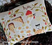 Cock-a-doodle-doo from Barbara-Ana Designs - click to see more