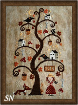 Autumn Tree from Barbara-Ana Designs - click to see more