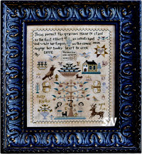 Polly Kirby Sampler from Barbara-Ana Designs - click to see more