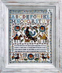 Portuguese Bird Sampler from Barbara-Ana Designs - click to see more