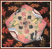 Thanksgiving Biscornu from Barbara Ana Designs - click for a larger view