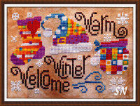 Warm Winter Welcome from Barbara-Ana Designs - click to see more