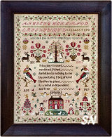 The Snooty Parrots Sampler from Barbara-Ana Designs - click to see more