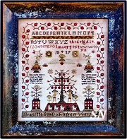 Henrietta Goodrich Sampler from Barbara-Ana Designs - click to see more