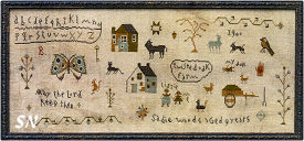 Sadie Woods Sampler from Barbara-Ana Designs - click to see more