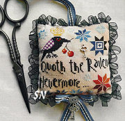 The Raven Scissor Fob from Barbara-Ana Designs - click to see more