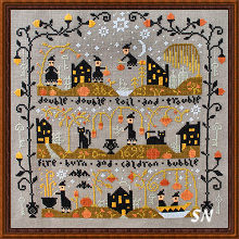 Black Cat Hollow from Barbara-Ana Designs - click to see more