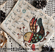 Funky Bird from Barbara-Ana Designs - click to see more