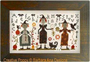 Three Witches from Barbara-Ana Designs - click to see more
