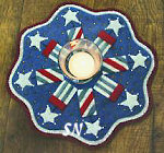 Little Stitchies 144 Firecrackers Candle Mat Pattern from Bareroots -- click to see more