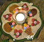 185 Little Stitchies Basket Mat from Bareroots - click to see more