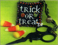 Trick or Treat & Happy Halloween Scissor Fob from Blackberry Lane - click to see more