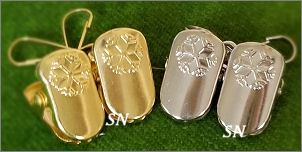 metal mitten clips from Blackberry Lane - click to see more
