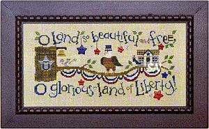 Complete Patriotic Branch from Bent Creek - click for more