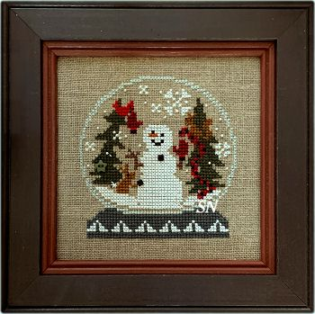 Birds Bent Creek Cross Stitch Patterns Holiday Snow Love Blessings YOU CHOOSE