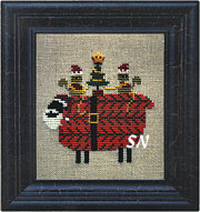 Santa Sheep from Bent Creek - click for more