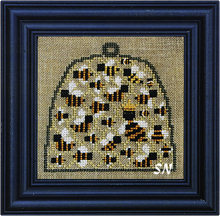 Skep of Bees by Bent Creek -- click to see more