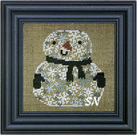 Snowman of Snowflakes by Bent Creek -- click to see more