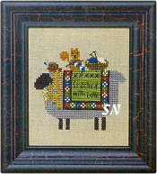The Stitching Sheep from Bent Creek - click for more