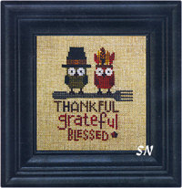 The Thankful Owls by Bent Creek -- click to see more