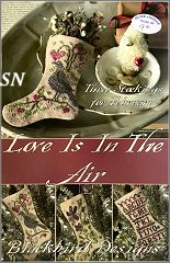 Love is in the Air February Stockings from Blackbird Designs - click to see more