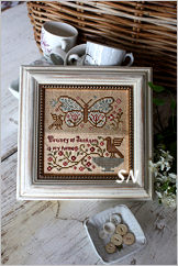 Butterfly Garden #5 from Blackbird Designs - click for more