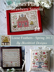 Agnes Platt's Strawberry Sampler from Blackbird Designs - click for more