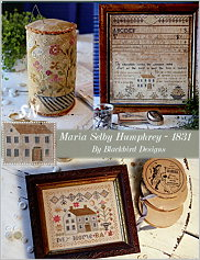 Maria Selby Humphrey -- 1831 from Blackbird Designs - click for more