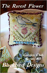 The Rarest Flower -- Garden Club #8 from Blackbird Designs - click for more