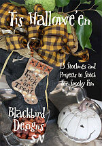 Vintage Halloween Stockings from Blackbird - click for more