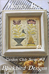 Garden Club #3 Honey Bee from Blackbird Designs - click for more