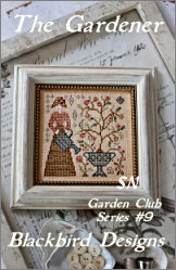 The Gardener - #9 of The Garden Club Series from Blackbird Designs - click for more