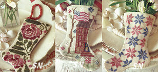 July Stockings from Blackbird Designs - click for more
