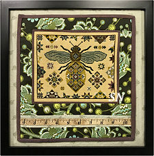 Quilting Bee from The Blue Flower -  click for more