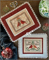 Winter Valentine from The Blue Flower -  click for more